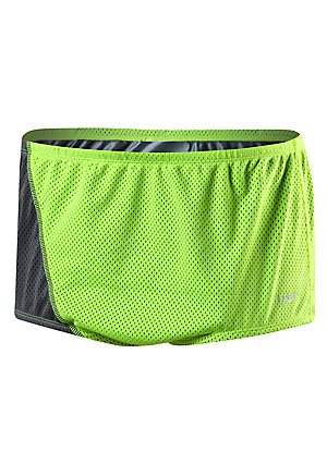 Speedo Men's Color Block Mesh Drag Swimsuit, Vibrant Lime, - Swimsuit Drag