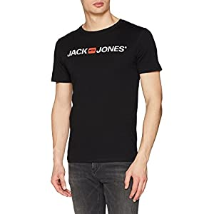 41d%2BYTtKx1L. SS300  - JACK-JONES-Herren-Jjecorp-Logo-Tee-Ss-Crew-Neck-Noos-T-Shirt