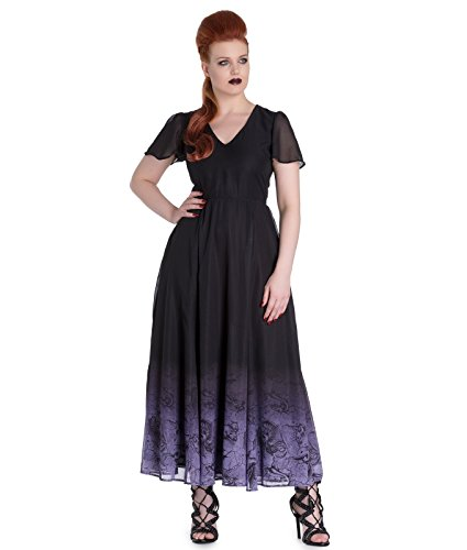 Spin Doctor Evadine Mythique Gothique Robe Maxi