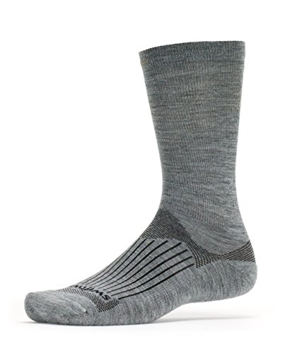 Swiftwick - PURSUIT SEVEN, Crew Socks for Hiking and Cycling