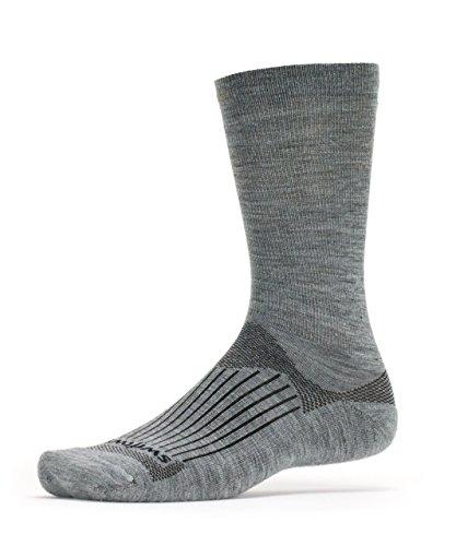 Swiftwick - Pursuit SEVEN, No Logo Classic Wool Crew Socks