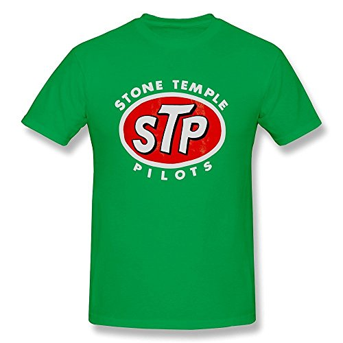 fulen-mens-stone-temple-pilots-stp-logo-cotton-t-shirt-forestgreen-l