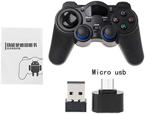 TY-UNLESS 2.4G Wireless Gaming Joystick Controller Gamepad für Android Tablet PC Smart TV, 1, One size