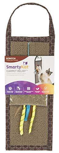 SmartyKat Carpet Relief Hanging Scratcher with Catnip ()