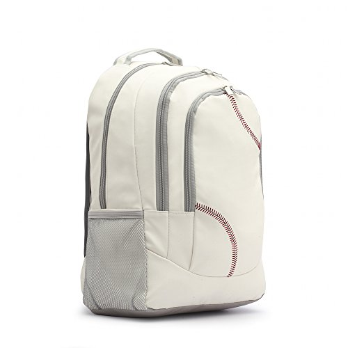 zumer-sport-unisex-backpack-baseball-white-one-size