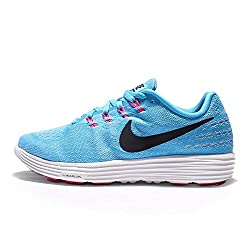 Nike Women's Lunartempo 2 Running Shoes-Gamma Blue/Blk/Pink Blast-6.5