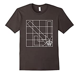 Chess Board T-Shirt. Checkmate Chess Playing Tee