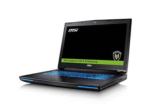 "Photo - MSI WT72 6QK(vPro)-003US 17.3"" Workstation Laptop Xeon E3-1505M v5 Quadro M3000 32GB 512GB SSD + 1TB Windows 10"