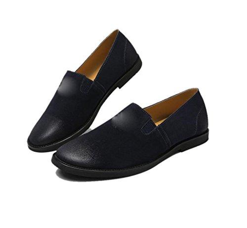 Black Ceinture Jeunesse Porter Vêtements Plat Rond Porter Fond Souple Coton Boucle Hommes Chaussures De Lerther Pointy Cérémonie vqRaYR