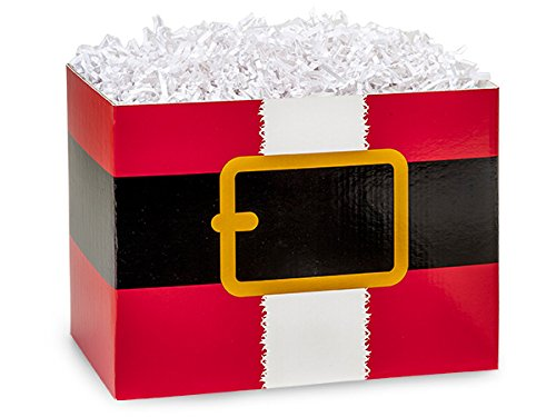 Large Santas Belt Basket Boxes 10-1/4x6x7-1/2