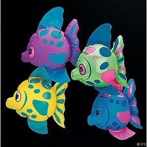 Mini Inflatable Fish (1 dz), Health Care Stuffs