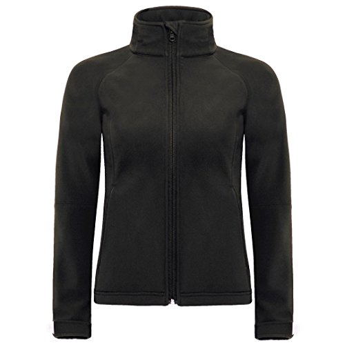 femmes Capuche C amp; À Collection Noir B Softshell OZYnxqT