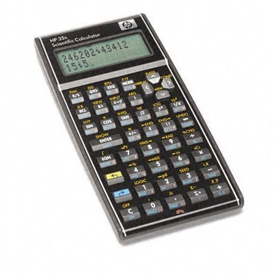 - HP 35S 35S Programmable Scientific Calculator, 14-Digit LCD