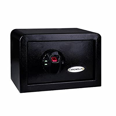 Ardwolf AS30 Security Safe Fingerprint Biometric Safe, Black