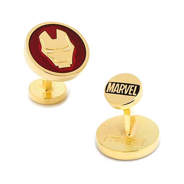 Marvel-Comics-Mens-Iron-Man-Cufflinks
