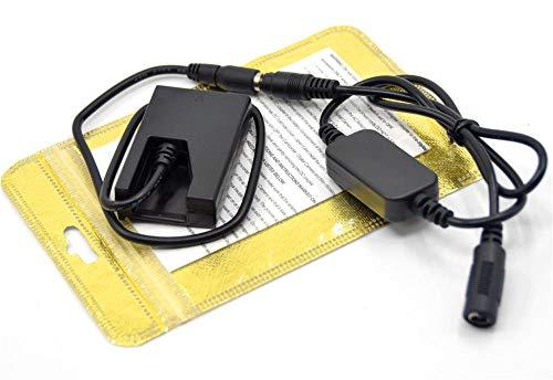 Xennos 12V-24V step-down charger DC cable EH-5A+EP-5 DC Coupler EN-EL9 ENEL9 dummy battery for Nikon D40 D40X D60 D3000 D5000 cameras - (Plug Type: 5525 female) (Nikon D40 D40x For Dummies)