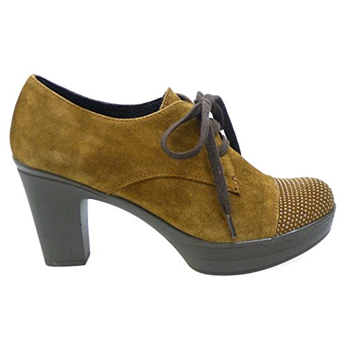 Salones 9234 Zapatos Mujer 39 Cuero Peep Toes WEEKEND ETqCA