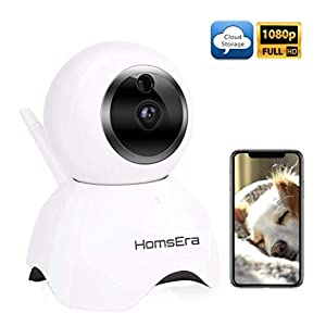 [Clearance SALE] Upgraded 2019 - HomsEra 1080P Full HD 2MP Wireless Pet/Dog/Baby/Home Security Camera MotionDetection, 2 WayAudio, NightVision, Pan/Tilt/Zoom, CLOUD Storage IOS/Android/WindowsPC App 6