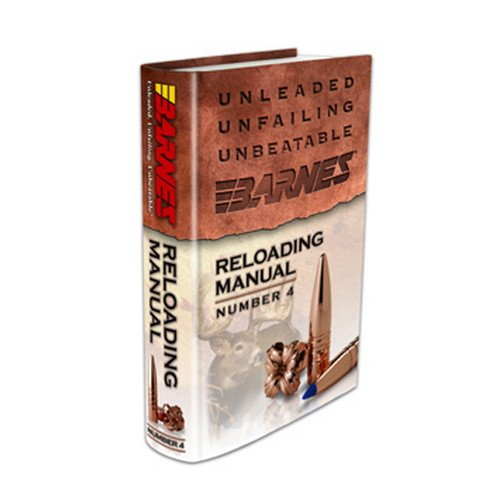 Review Barnes Bullets 30745 4th Edition Reloading Manual,