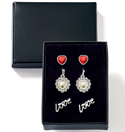 Avon, Lovely Sparkle 3-Pair Earring - Earrings Avon Strand