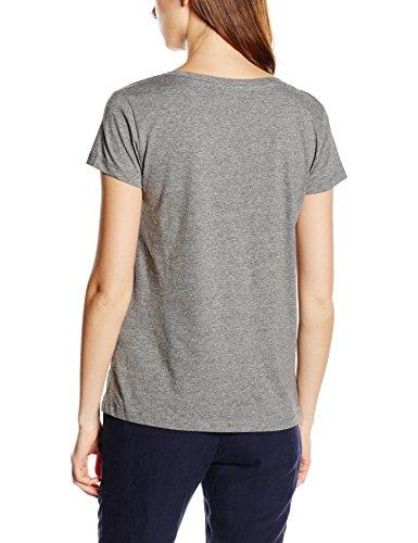 Cortefiel CTA Basica Corte, Camiseta para Mujer greys