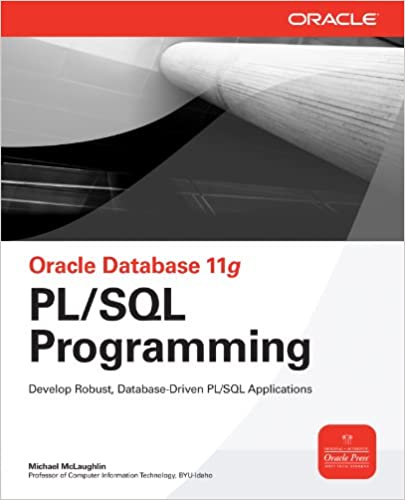 Amazon com: Oracle Database 11g PL/SQL Programming (Oracle