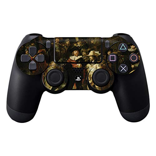 (MightySkins Skin Compatible with Sony PS4 Controller - The Nightwatch | Protective, Durable, and Unique Vinyl Decal wrap Cover | Easy to Apply, Remove, and Change Styles | Made in The USA)