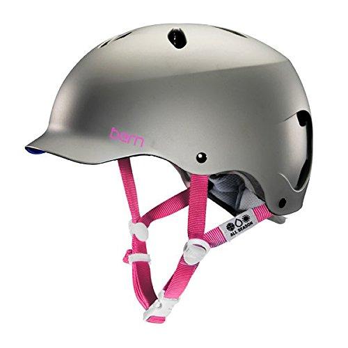 Bern Lenox EPS Brim Women's Helmet Satin Graphite Grey, M/L