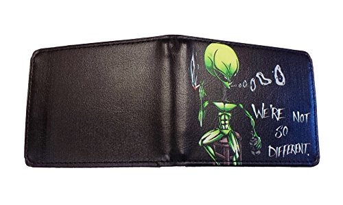 alien-on-barstool-were-not-so-different-bi-fold-wallet