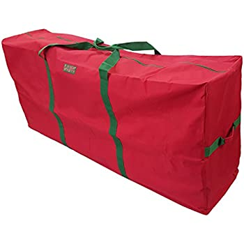 k cliffs heavy duty christmas tree storage bag fit upto 9 foot artificial tree holiday - Christmas Tree Bag Storage