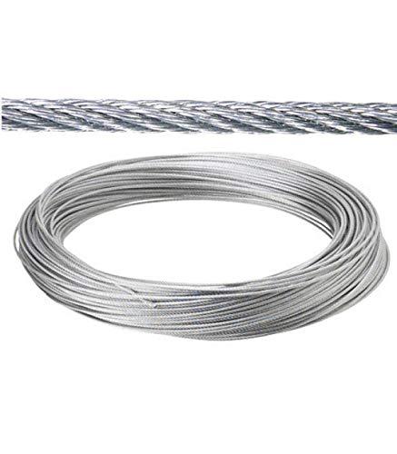 Fixman 876416 Cable galvanizado Plata