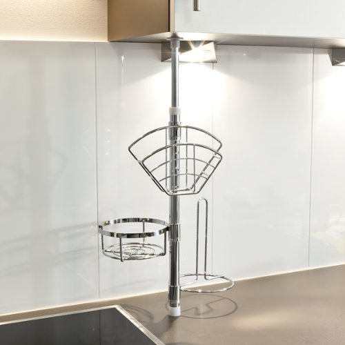 bremermann k chen teleskopregal k chenregal k chenstange 6413 k chenausstattung. Black Bedroom Furniture Sets. Home Design Ideas