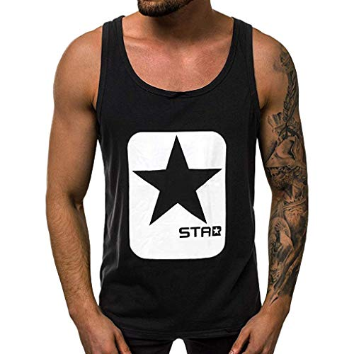 (Mens UPF 50+ UV Sun Protection Long Sleeve Running Workout Outdoor Performance T-Shirt Black)