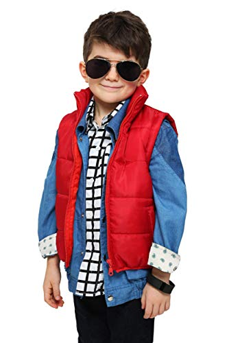 Fun Costumes boys Toddler Marty McFly Vest Standard]()
