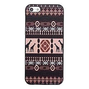 JJE Giraffe Pattern Back Case for iPhone 5/5S