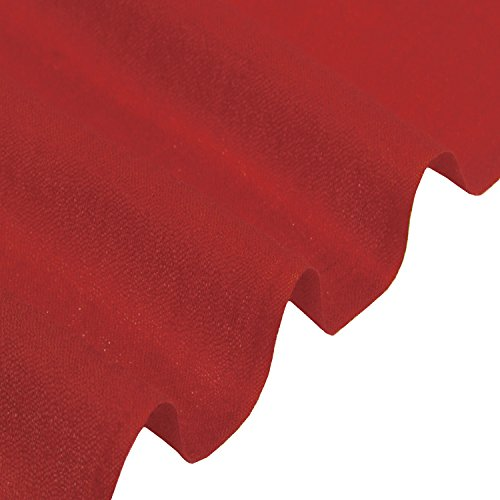 100% Cashmere Made in Kashmir Womens Mens Solid Scarf Stole Shawl Pashmina Bright Red KASHFAB