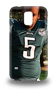 Galaxy Case New Arrival For Galaxy S5 Case Cover Eco Friendly Packaging NFL Philadelphia Eagles Donovan Mcnabb #5 ( Custom Picture iPhone 6, iPhone 6 PLUS, iPhone 5, iPhone 5S, iPhone 5C, iPhone 4, iPhone 4S,Galaxy S6,Galaxy S5,Galaxy S4,Galaxy S3,Note 3,iPad Mini-Mini 2,iPad Air )