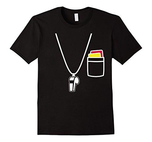 Referee Costume T-shirts (Mens Whistle Tshirt Referee Whistle T-Shirt Referee Equipment 3XL)