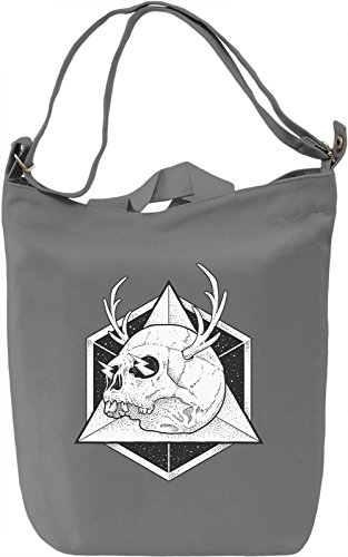 Hipster skull Borsa Giornaliera Canvas Canvas Day Bag| 100% Premium Cotton Canvas| DTG Printing|