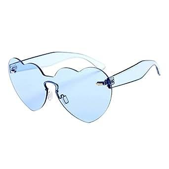 Gafas de Sol Polarizadas 2019, ✿☀ Zolimx Retro Anteojos Lente Claro Gafas Para Mujer