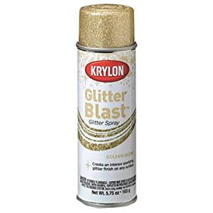 krylon k03801a00 glitter blast golden glow ounce spray paints. Black Bedroom Furniture Sets. Home Design Ideas