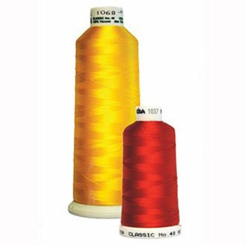 New Madeira Rayon Embroidery Thread 5500yd #40 Cone Color 1370 Fir Green