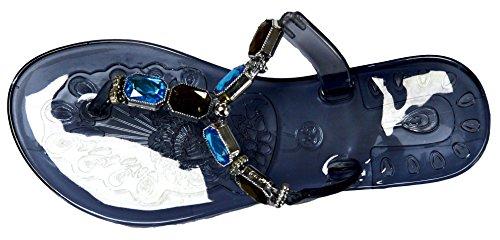 Sandales Tongs Wear Couleurs Collection Summer Transparente Noire En Styles D'octave Et De Pour Beach Femmes Diffrents Gele Base rY5Uw75nqP