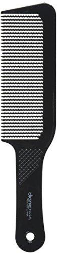 Diane 9.5 Inch Flat Top Clipper Comb Black - Clipper Top