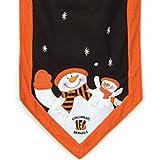 Cincinnati Bengals 72 inch x 15 inch Snowman Table Runner