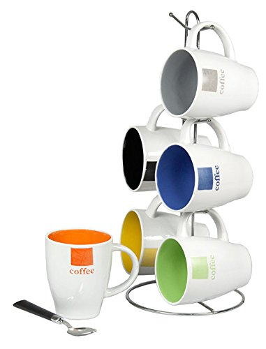 coffee mug sets of 8 - 5