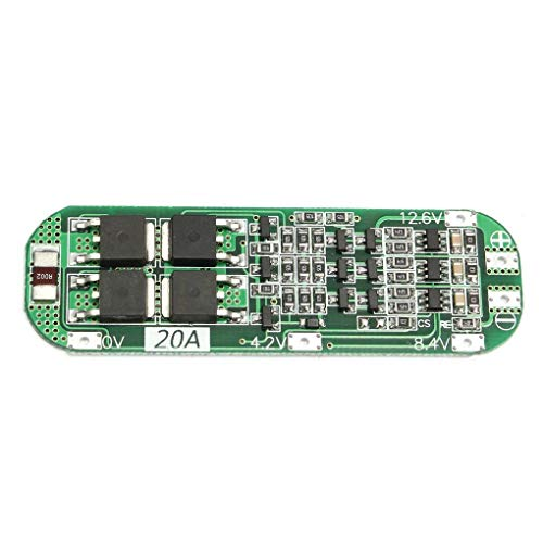 Yongse 3S 20A Li-ion Lithium Battery 18650 Charger PCB BMS Protection Board 12.6V Cell by Yongse (Image #3)