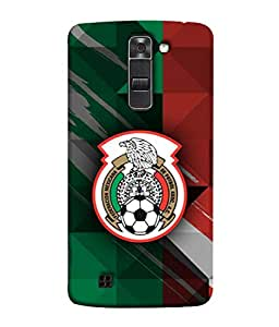 ColorKing Football Mexico 12 Multicolor shell case cover for LG K10