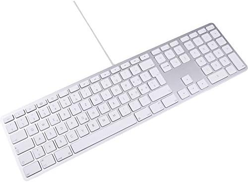 LMP 17527 - Teclado inglés (UK) con Teclado numérico, Cubierta Superior de Aluminio y 2 Puertos USB (para Apple Mac) Color Plata: Amazon.es: Electrónica