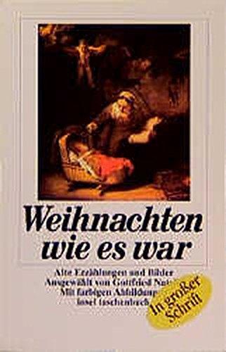 Vintage Bilder Weihnachten.Weihnachten Wie Es War Großdruck Alte Erzählungen Und Bilder